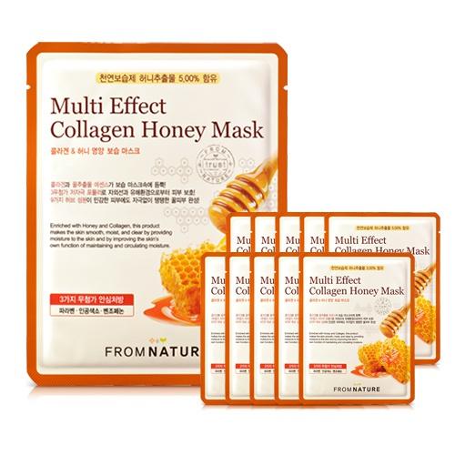 蜂蜜胶原蛋白营养弹力面膜